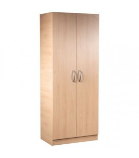 Classic 2 Door Wardrobe - Available In 4 Colours