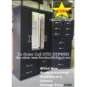 4 Door Wardrobe Combi + 2 Bedside Cabinets + 5 Draw Chest