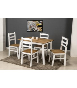 Morden Dining Set + 4 Chairs