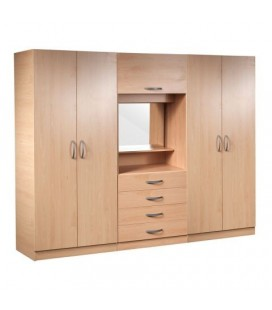 Classic Complete Fitment Wardrobe - Available In 4 Colours