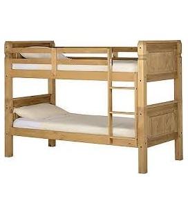 """Farmhouse 3"""" Bunk Bed Frame"""