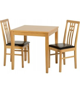 Morden Dining Set + 2 Chairs