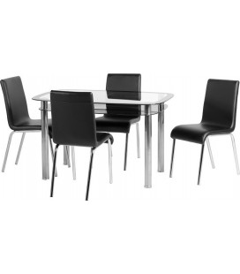 Digby Dining Set + 4 Chairs