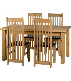 "Eaton 4'9"" Dining Set + 4 Chairs"