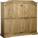 Farmhouse 4 Door Wardrobe