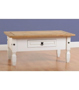 Farmhouse 1 Drawer Coffee Table