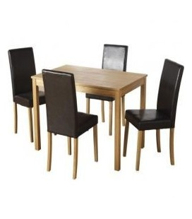 Admiral Dining Set + 4 Chairs