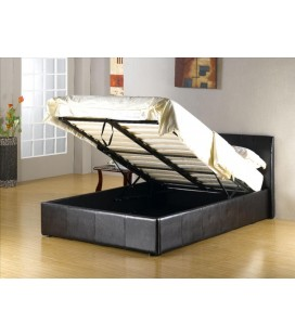 Ashtead Lift-Up Ottoman Storage Bed With Mattress