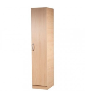 Classic 1 Door Wardrobe - Available In 4 Colours