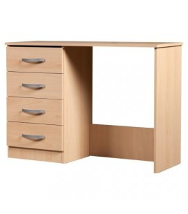 Classic Single Pedestal Dressing Table - Available In 4 Colours