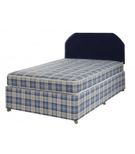 Light Quilted Divan Bed - All Sizes